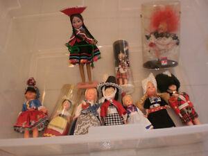 small doll collection  (international)
