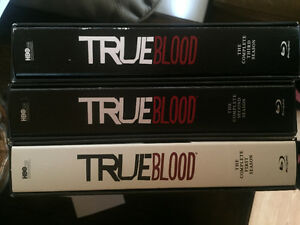 True blood 1-3 seasons