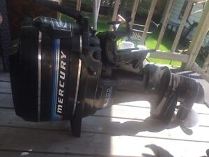 Late 1979's Mercury boat motor, excellent condition
