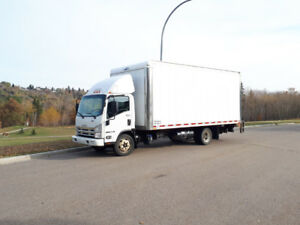 2014 Isuzu NRR 4 Ton 5.2L Diesel Truck with Power Tailgate
