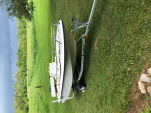 2005 EdgeWater 14.5ft 50hp NEW TRAILER AND BOAT LIFT INCLUDED!!!