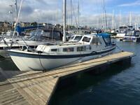 LM27 QUALITY GRP MOTORSAILER 24HP DIESEL £19950 MASSIVE REDUCTION TO SELL
