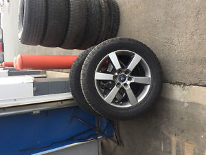 275/55R20 Hankook Dynapro Tires on Rims