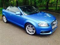 2009 Audi A3 Cabriolet 2.0 TDI S Line Convertible 2dr Diesel Manual (139 g/km,