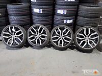 "19"" VW San Diego Style Alloy Wheels & Four Tyres for a Golf Passat Caddy Etc"