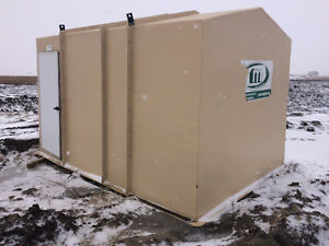 Fiberglass Hut 10'x14'x8' - Never Used - fishing or storage