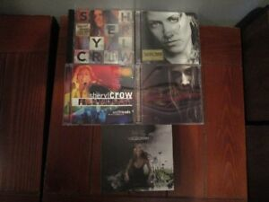 SHERYL CROW - 5 COMPACT DISC COLLECTION