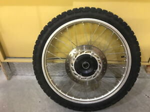 2004 XR650L Front Wheel With Disc and Tire!