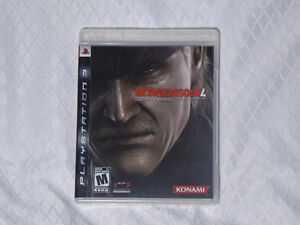 Metal Gear Solid 4 Guns of the Patriots for PS3