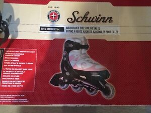 Patins a roues alignées fille taille 1 a 4 ajustable