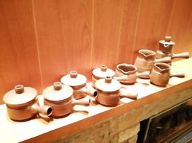 Original 1970s Lidded Soup Bowl Set and Jugs