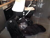 Bugaboo Cameleon3 Pram & Pushchair with Footmuff + Raincover