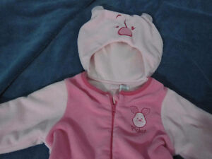 Piglet winter outfit  12 months perfect halloween costume too