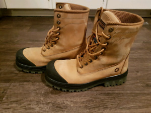 Brand New Leather JB GOODHUE Steel Toe CSA Work Boots Size 10.5