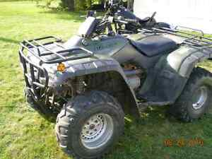 2002 Honda fourtrax 350 2WD