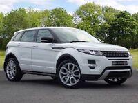 Land Rover RANGE ROVER EVOQUE 2.2 SD4 Dynamic 4x4 5dr (white) 2013