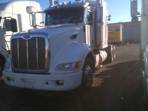 Call Syed 2008 Peterbilt 386 single bunk sleeper