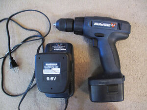 Mastercraft 9.6V Drill with Charger