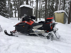 Yamaha apex and trailler