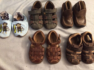 Boys sandals & shoes Stride Rite, See Kai Run, Geox, size 5-7