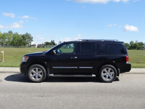2013 Nissan Armada Platinum – NO ACCIDENTS- LOW KMS – 8 SEATER -