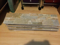 Rock Backdrop 6 Pieces. One Piece Broke. $10 for all. Orleans.