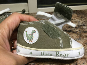 "NEW...""Dino Roar"" Infant shoes"