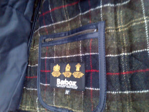 Barbour Jacket (BRAND NEW) M or L Kitchener / Waterloo Kitchener Area image 3