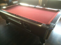 Fully Functional Coin Operated 3.5' x 7' Pool Table