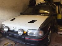 Two ford escort xr3i cabriolet