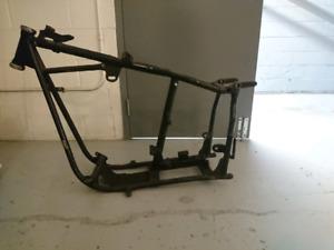 Drop seat panhead frame