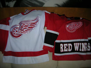 Detroit Red Wings Hockey Team Jersey CCM Made In Canada