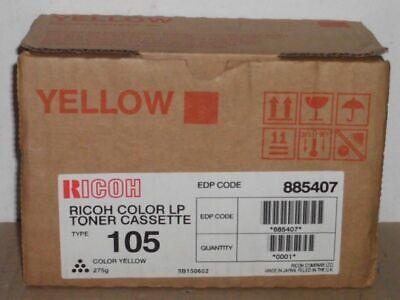 Ricoh Toner Type 105 yellow für Aficio AP3800 CL7000 7100 Color AP 3850 OVP -