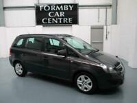 2013 Vauxhall Zafira 1.8 i VVT 16v Exclusiv 5dr MPV Petrol Manual