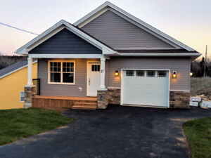1 Year old 3BR 2000 sqft Bungalow with garage