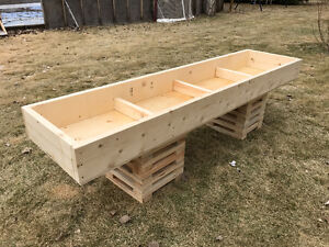 "8' Long x 2' Wide x 8"" Deep Raised Garden Beds - $125"
