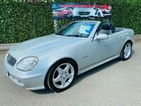 2001 Mercedes-Benz SLK SLK 320 2dr CONVERTIBLE Petrol Manual
