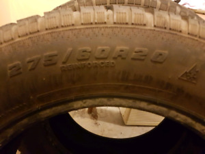 Selling 2 Winter Truck Tires 275/60R20!