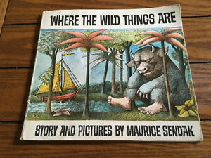 Where The Wild Things Are By Maurice Sendak 1963 Paperback Book
