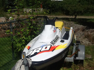 light and fast personal watercraft