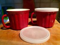 Brilliant Oversizes soup or pie mugs (oven safe)