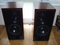 ATC SCM100A Rosewood Active Speakers Monitor.