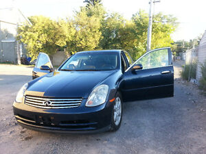 2003 Infiniti G35 Sedan fully loaded- Mint Condition