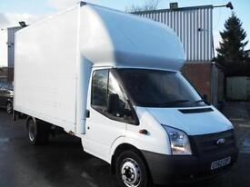 62 REG FORD TRANSIT LUTON WITH TAIL LIFT, 125BHP, EURO 5, 92K MILES, CLEAN!!