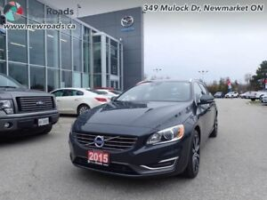 2015 Volvo V60 T6 - Navigation -  Sunroof -  Leather Seats -...