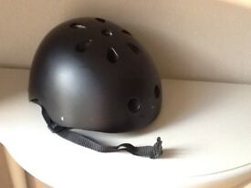 BMX bicycle helmet