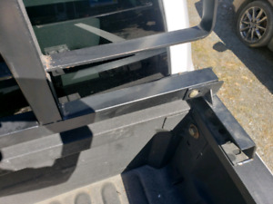 Back rack and tonneau cover adapters