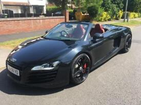 AUDI R8 4.2 FSI V8 SPYDER - FULL SERVICE HISTORY - NEW CLUTCH FITTED - RED LEATH