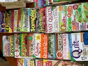 Quilting, Quilters World, and Sewing Magazines