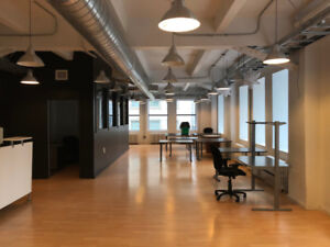 Stunning 3rd Floor Office Space For Rent Downtown Montreal!